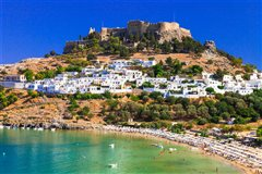 Αθήνα - Ρόδος (με επιστροφή) από 150,12€